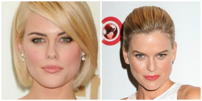 Rachael Taylor and Alice Eve Lookalikes